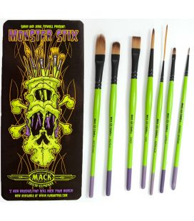 Set Brushes Pinstriping Tidwell Monster Stix