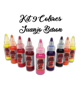 Kit Pinturas 9 Colores Juanjo Baron Custom Creative