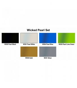 Set Farben, Wicked Colors, Createx (6ud x60ml)