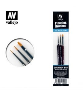Pinsel Starter-Set Vallejo