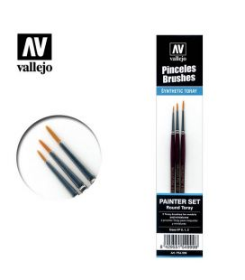paint Brushes Painter Set Vallejo