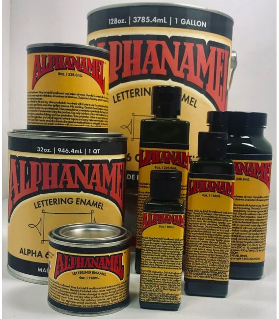 Paint Pinstriping Alphanamel - 236 ml