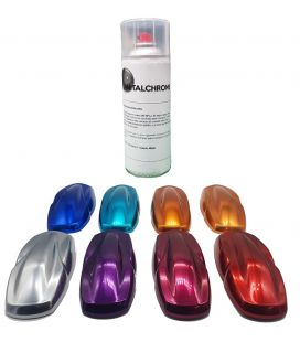 Kit Spray Chrome Efecto de COR