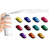 Kit Sprays Pintura Efecto Candy (3ud)