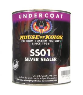 Kit Equipamento Silver Sealer House Of Kolor