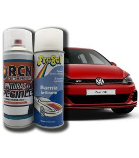 Kit Spray Pintura Carro + Verniz 1K