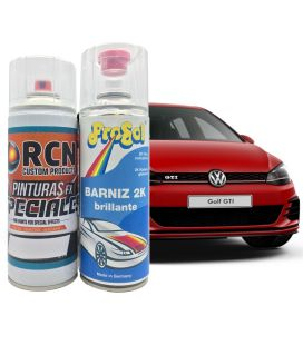 Kit Spray Pintura Coche + Barniz 2K