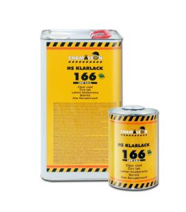 Kit 5L Barniz 166 HS Low VOC Premium