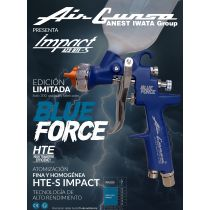 Pistola Iwata AZ3 Impact Blue Force 1.3mm