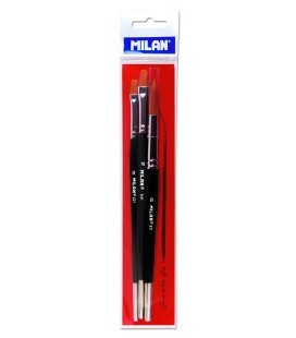 "Set Paintbrushes Fine Arts ""To"" Milan"
