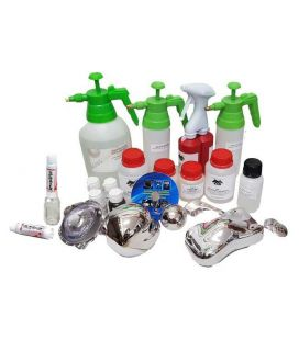 Kit Cromado Puro en Sprays con 2 Sprayers