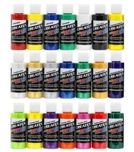 Packs Paints Createx Airbrushing
