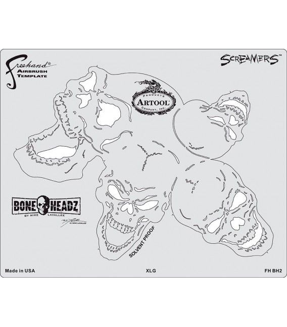 Templates SCREAMERS BONE HEADZ Artool