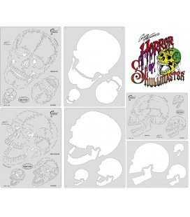 Templates Mini-HORROR OF SKULL MASTER Artool