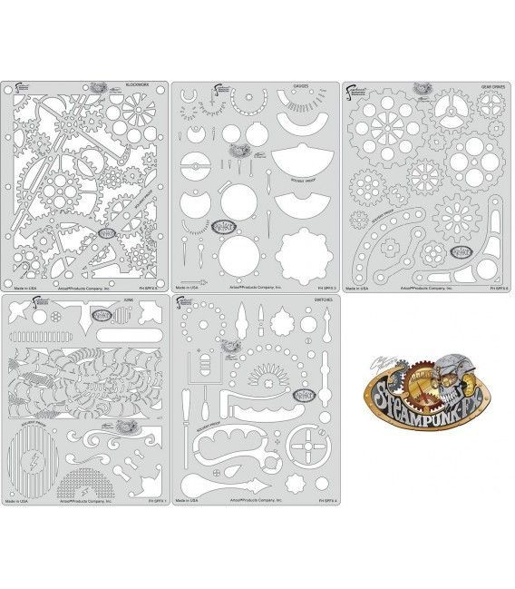 Templates Mini STEAMPUNK FX Artool