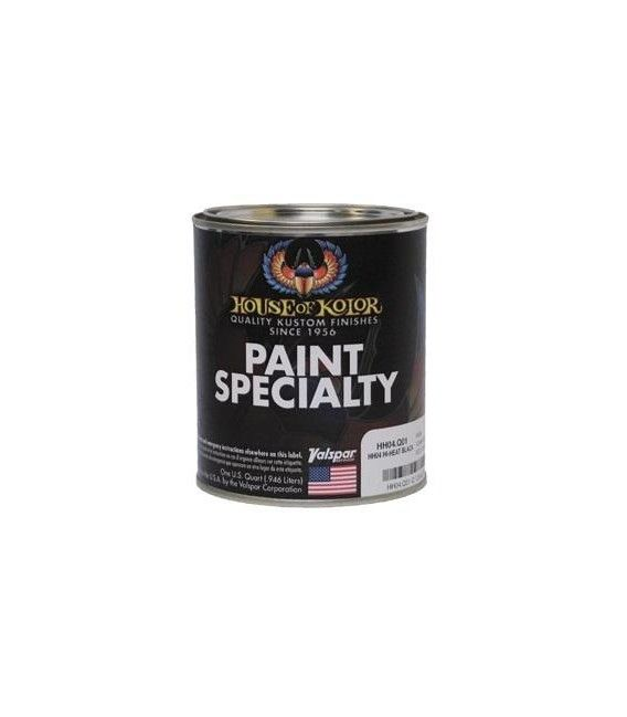 Paint Anticalórica Black 760º House Of Kolor -1L