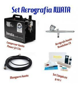 Set Airbrush Iwata Advanced
