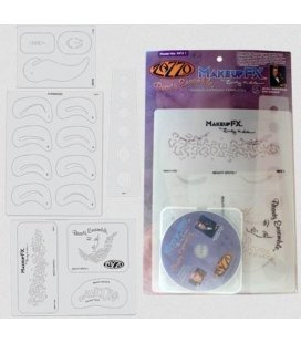 Vorlage Makeup Beauty-Ensemble + DVD