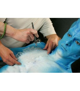 Template Body Makeup Character + DVD