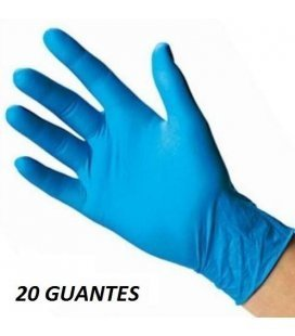 Gloves Nitrile Extra Hard (20 units)