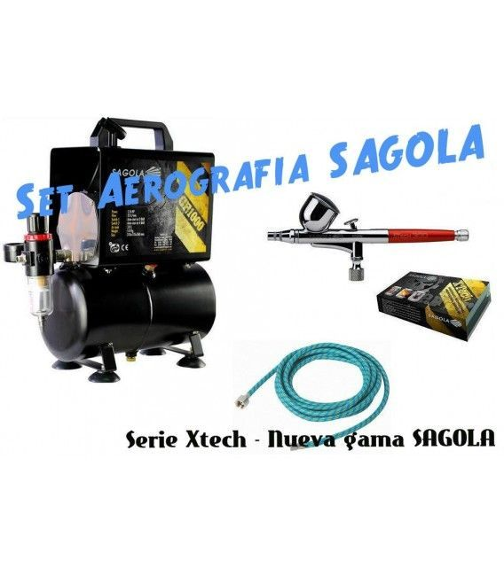 Set Airbrush Sagola