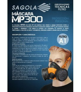 Mask MP300 of Sagola