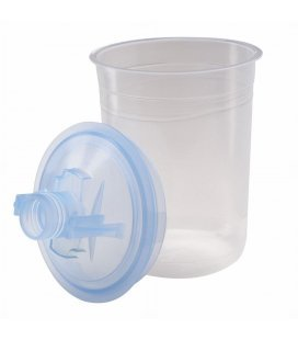 Kit PPS 3M (glass 170ml + lid + filter)