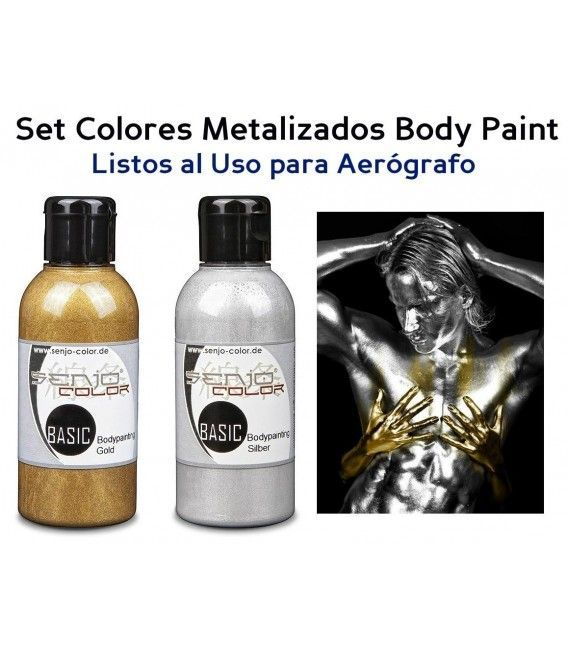 Kit Farbe Body Paint Metallic-Senjo (75ml)