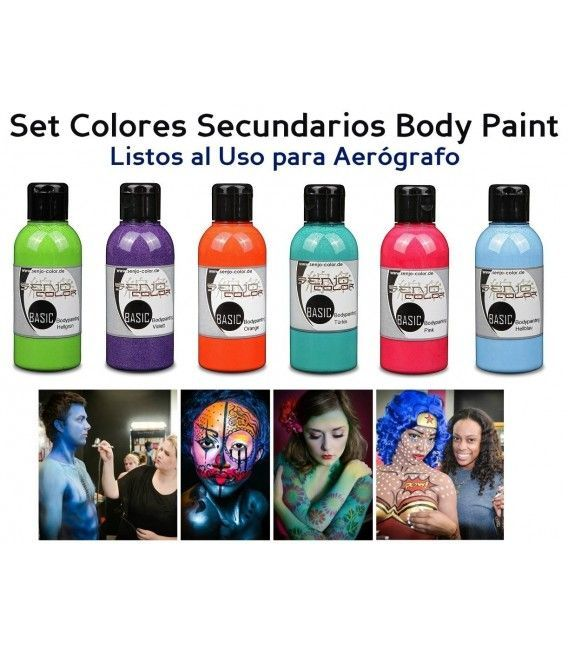 Kit Paint Body Paint Side Senjo (5ud x 75ml)