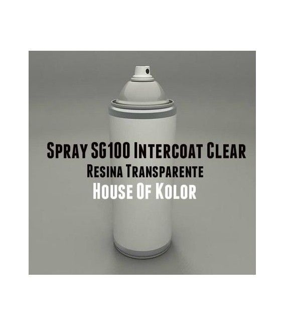 Esprai Resina Entrecapas C2C-sg-100 intercoat clar House Of Kolor