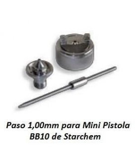 Picco/Ago/Ugello 1,00 mm per BB10 Starchem
