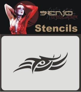 Template Airbrush Tribal (10x15cm)