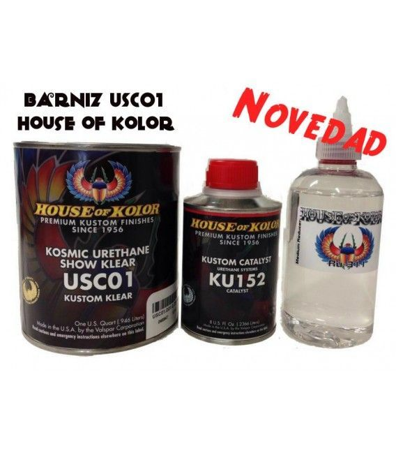 Kit Barniz USC01 House Of Kolor (800ml)