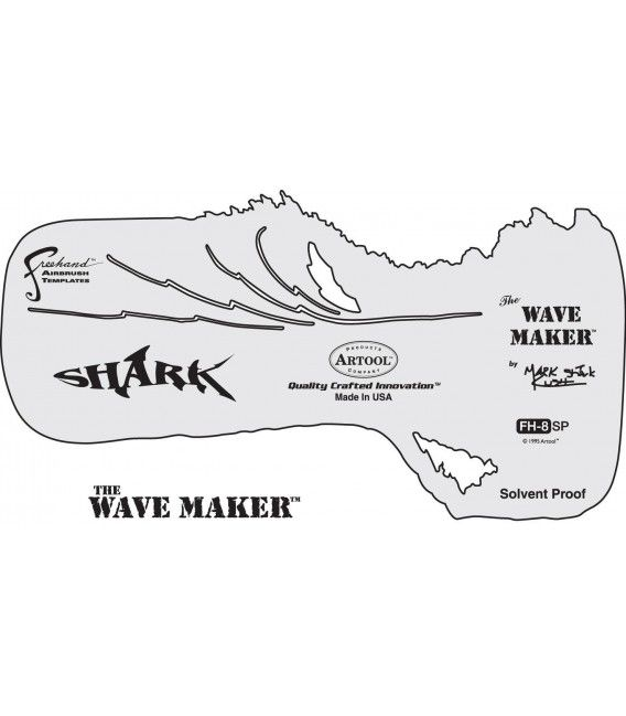 Plantilla SHARK / WAVE MAKER Artool
