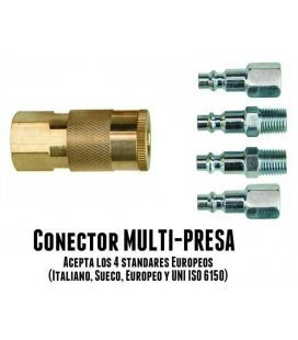 Femení Multi Presa Connector