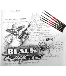 Brush Mack Black Widow - Nº00