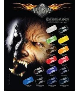 Set Paints Real Fire Wicked (6ud x 60ml)