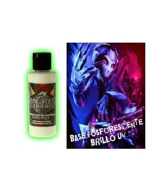 Pintura Fosforescente Wicked UV - 60ml