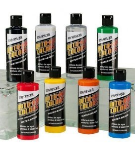 120ml de Peintures Auto Air Semi Opaque