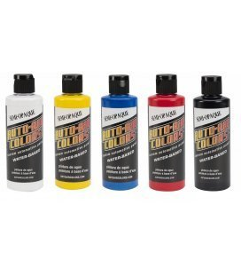 Set Paint Semi Opaque Auto Air (5ud x 120ml)