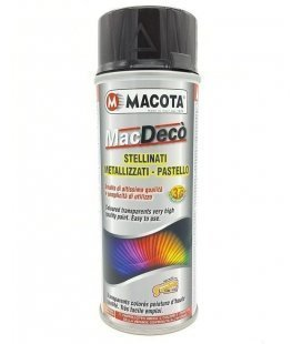 Spray Pintura Negra Brillo Custom - Macota