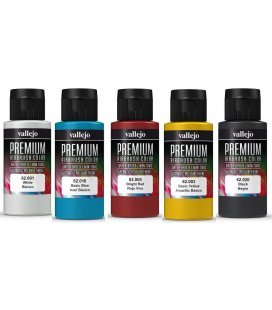 Packs Paints Vallejo Premium (60ml x 5ud)