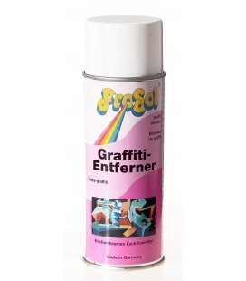 Spray Removes Graffiti Prosol