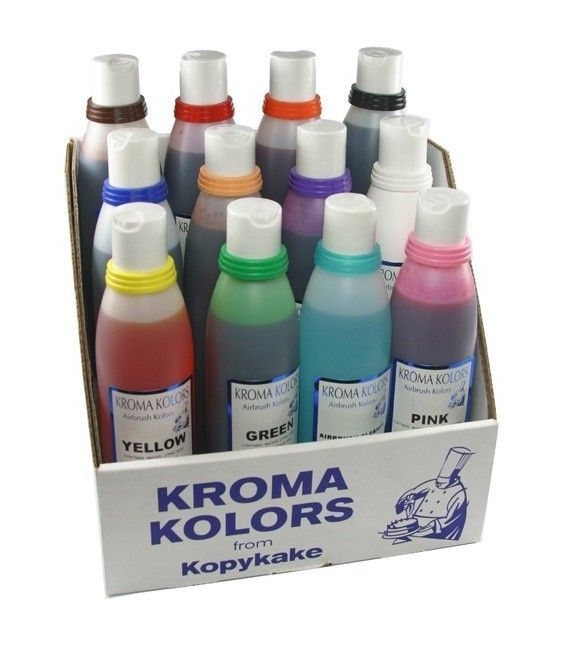 Ensemble De 12 Coloration Aérographe Kroma Kolor (-10%)