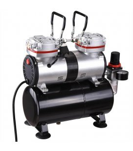 Compressor Airbrushing Air Twin