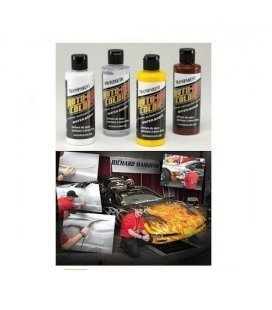 Set Pinturas Fogo Real Auto Air Richard Markham (4ud x 120ml)