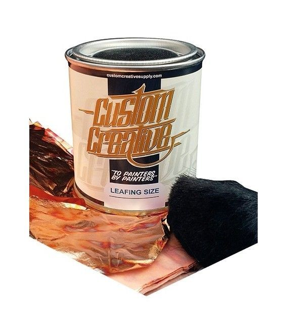 Adhesive Gold leaf Custom Creative (120ml)