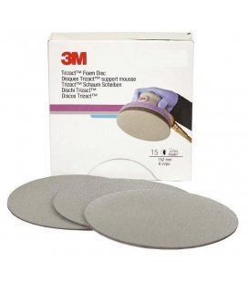 Discs 3M MINI Finishing Trizact 75mm (P1000 to P6000) - 5ud