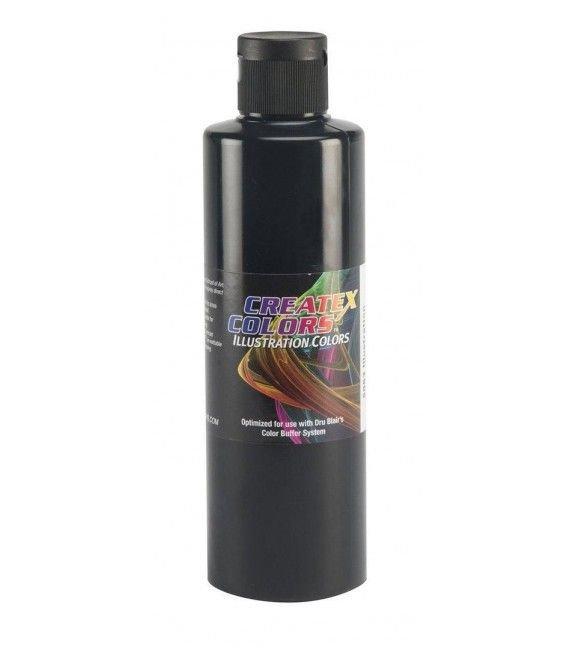 Farbe Createx Illustration Black - 240ml