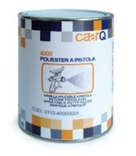 Plastilina Poliester spray Gun 1L + Cat